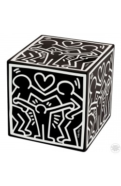 CREATIVANDO POUF Cubolibre/ Happy Family Black