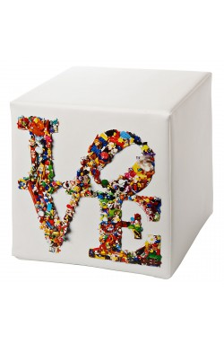 CREATIVANDO POUF Cubolibre/ Love Is Not A Toy