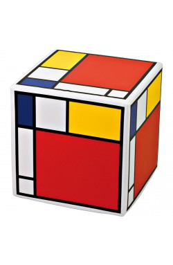 CREATIVANDO POUF Cubolibre/ Mondrian Style