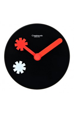 CREATIVANDO Orologio Fare le ore piccole/ Asterisk Black