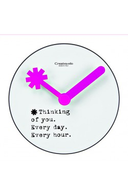 CREATIVANDO Orologio Fare le ore piccole/ Thinking