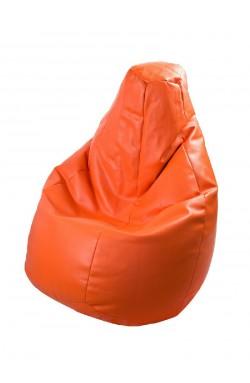 CREATIVANDO Poltrona a sacco LOLITA Ecopelle Kids/ Arancione